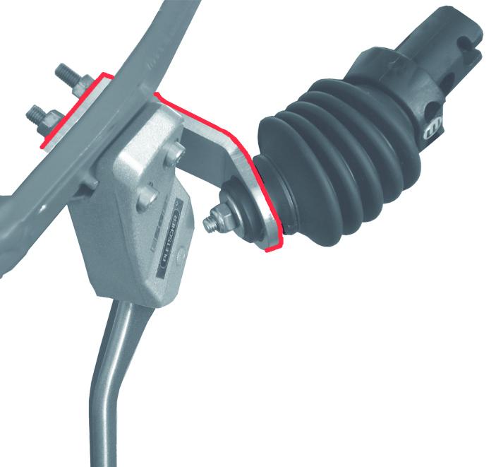 Weber Adapter mit Schrauben M5 für EP-Kupplung
